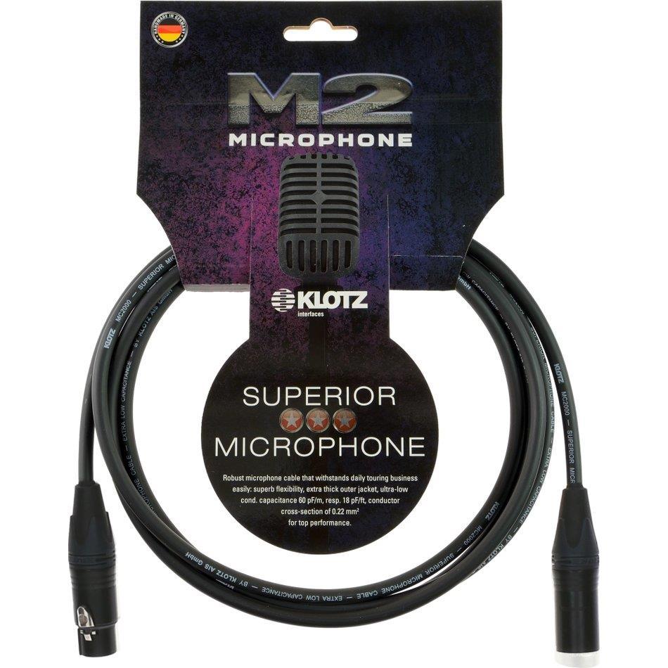 Klotz mik.kabel Superior Neutrik XLR/XLR 10 m