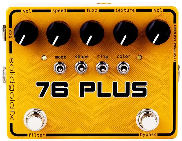 SolidGoldFX - 76 Plus - Octave-up Fuzz & Filter