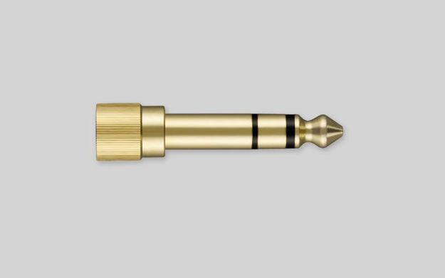 Shure HPAQA1 headphone 1/4 adapter SRH-series
