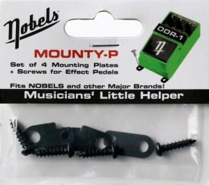 Nobels - Mounty-P Set  - Pedal mounting plate kit
