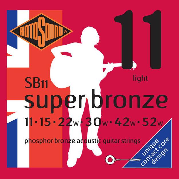 Rotosound SB11 Super Bronze - Light 11-52