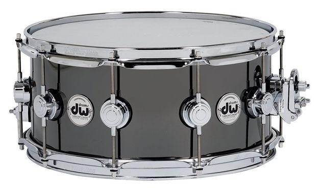 """Drum Workshop Snare Drum Yellow brass - 14x6,5"""""""