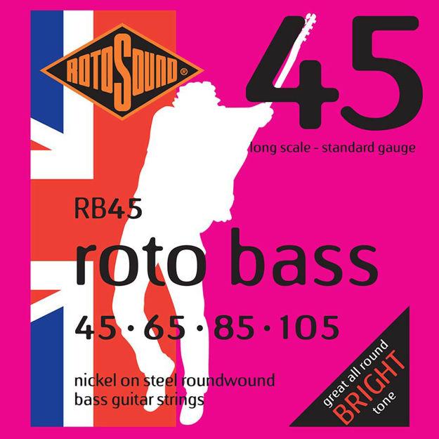 Rotosound RB45 Roto Bass - Nickel  45-105