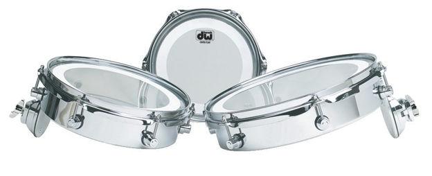 "Drum Workshop Piccolo Toms Design Series - 12"""