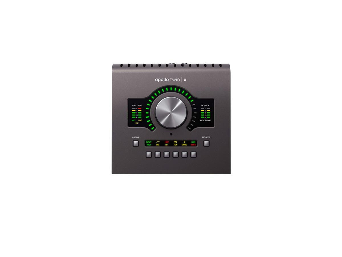 Universal Audio Apollo TWIN X QUAD x4 DSP, TB3, Heritage Ed.
