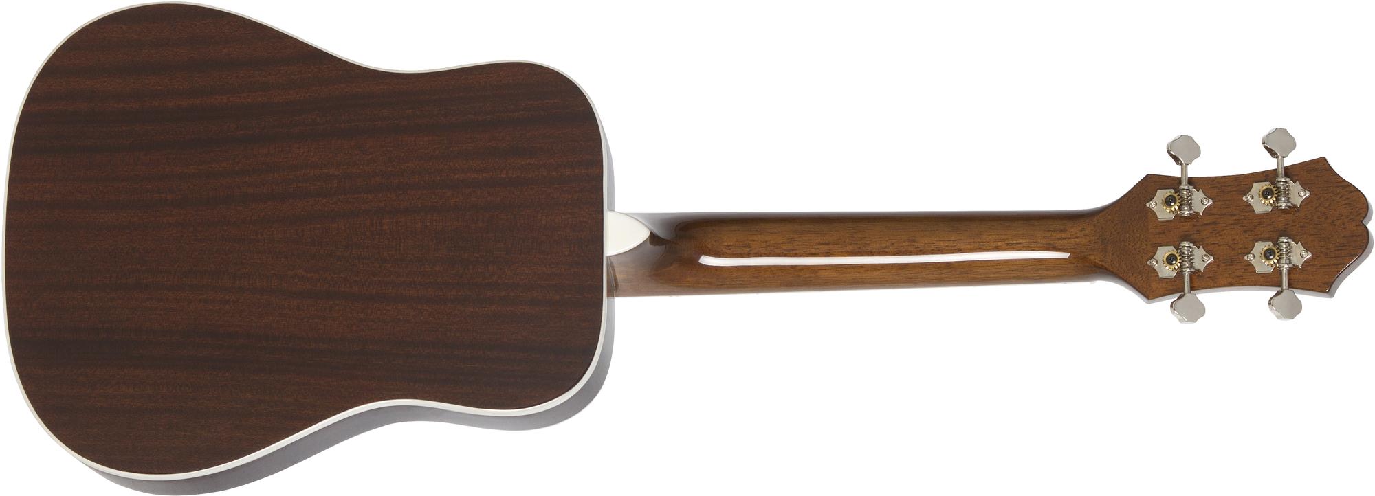 Epiphone Hummingbird Acoustic/Electric Ukulele Outfit (Tenor) Faded Cherry Sunburst