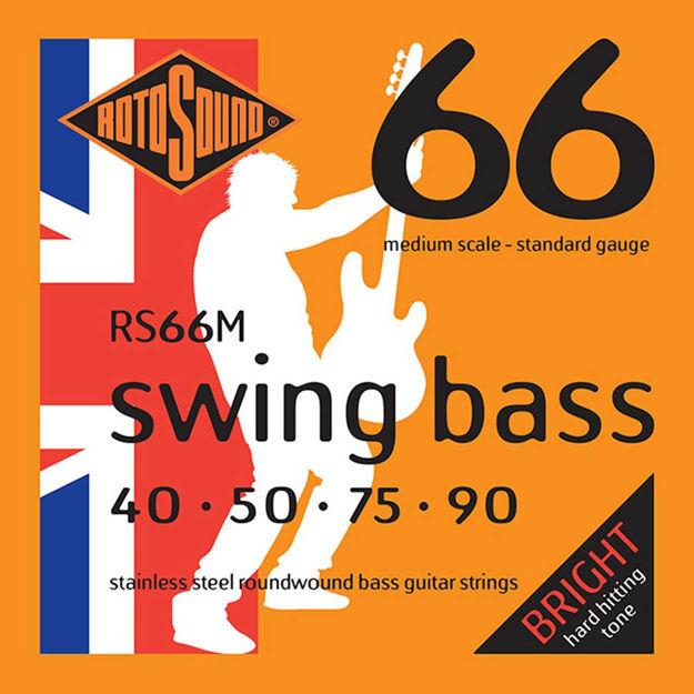 Rotosound RS66M Swing Bass 66 - Medium 40-90