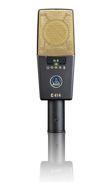 AKG C414XLII | kondensatormikrofon, multikarakteristikk, CK12 kapsel