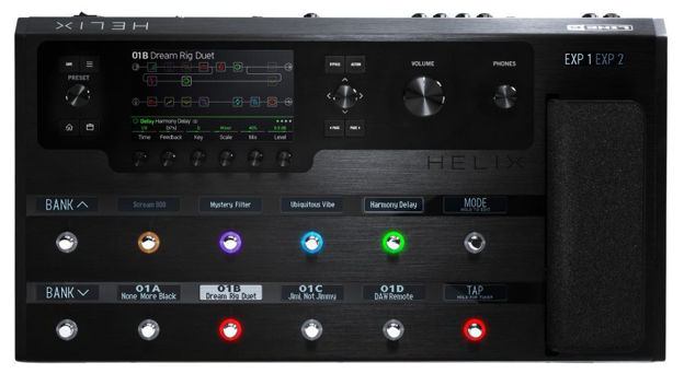 Line 6 Helix Guitar Effect Proccessor