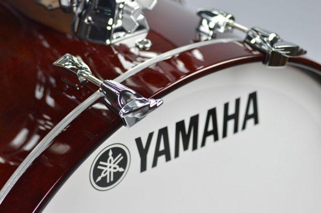 Yamaha Absolute Maple Hybrid Bass Drum 22x14 Classic Walnut