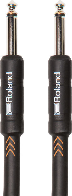"Roland RIC-B20 20FT / 6M INSTRUMENT CABLE, STRAIGHT/STRAIGHT 1/4"" JACK"