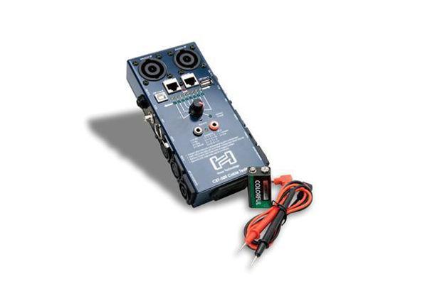Hosa CBT500 kabeltester for XLR, jack, mjack, speakon