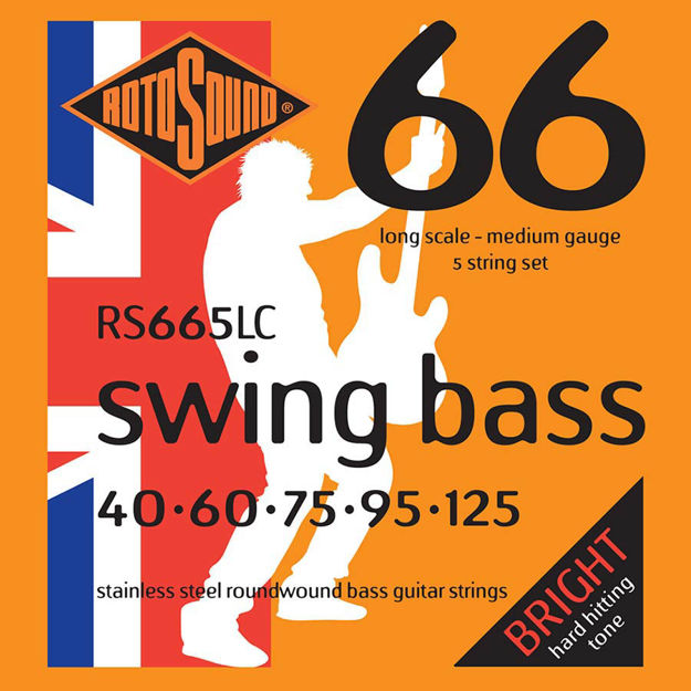 Rotosound RS665LC Swing Bass 66 - 5-str 40-125