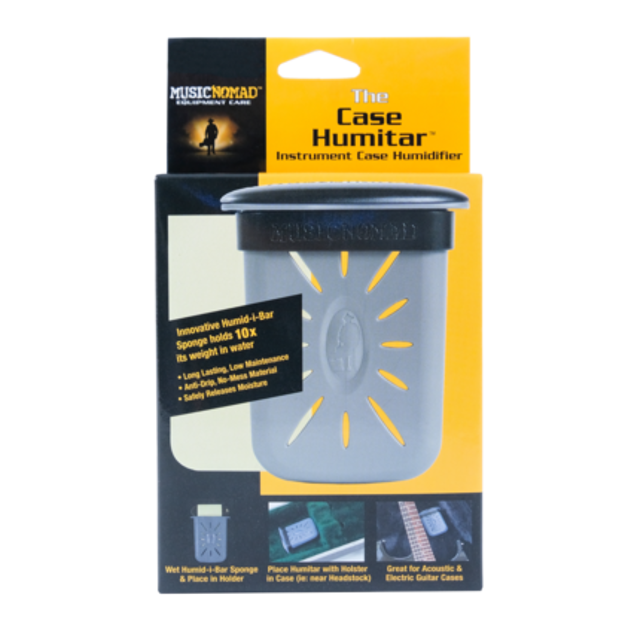 Music Nomad The Humitar - Instrument Case Humidifier w/ Case Holster | MN303