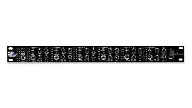 ART HEADAMP6PRO   6 CHANNEL HEADPHONE AMP