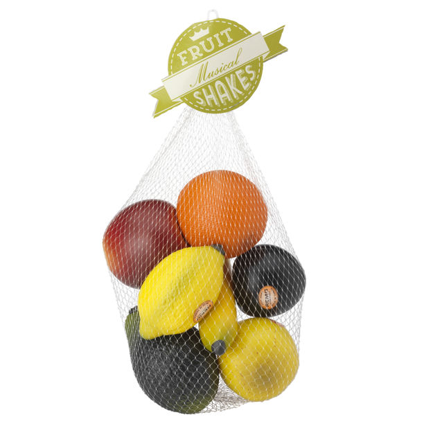Remo Shaker, Hand, 'Fruit' Style, 7-Piece Bag, Assorted