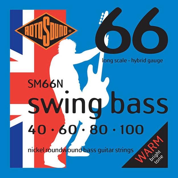 Rotosound SM66N Swing Bass 66 - Nickel 40-100