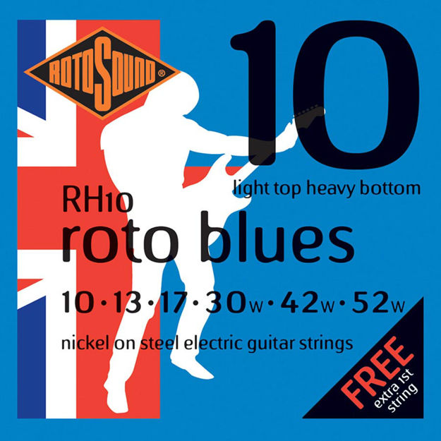 Rotosound RH10 Roto Blues - Light Top/Heavy Bottom 10-52