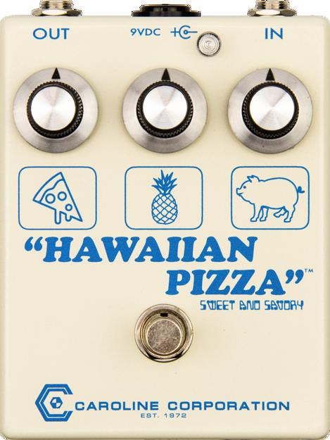 Caroline GU Hawaiian Pizza