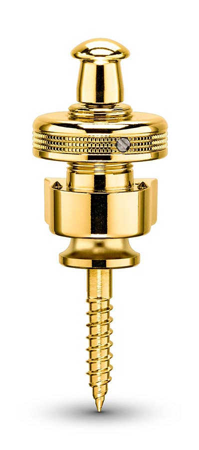 Schaller S-locks Strap Locks - Gold