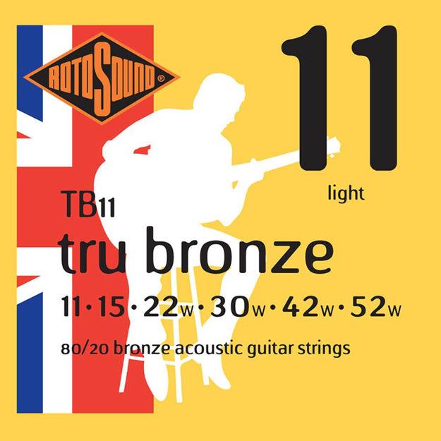 Rotosound TB11 Tru Bronze - Light 11-52