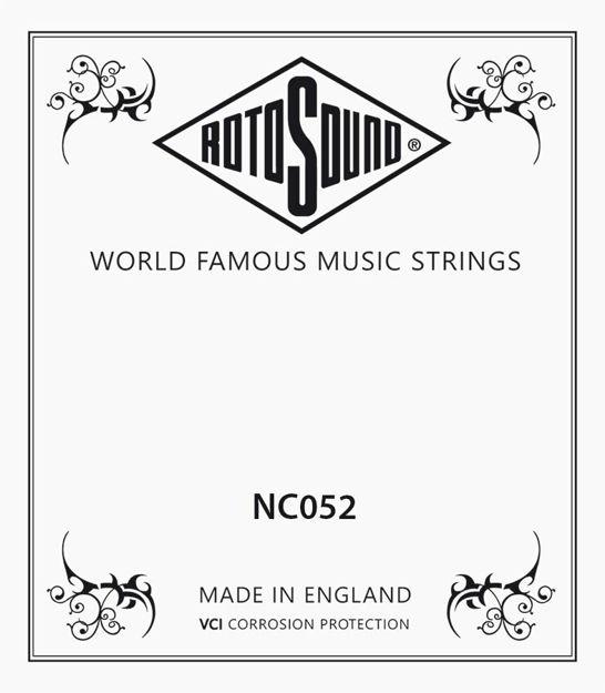 Rotosound NC052 Single String - Nickel Wound