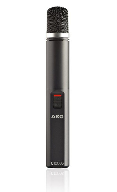 AKG C1000MK4 | kondensatormik, 2 x AA batteri