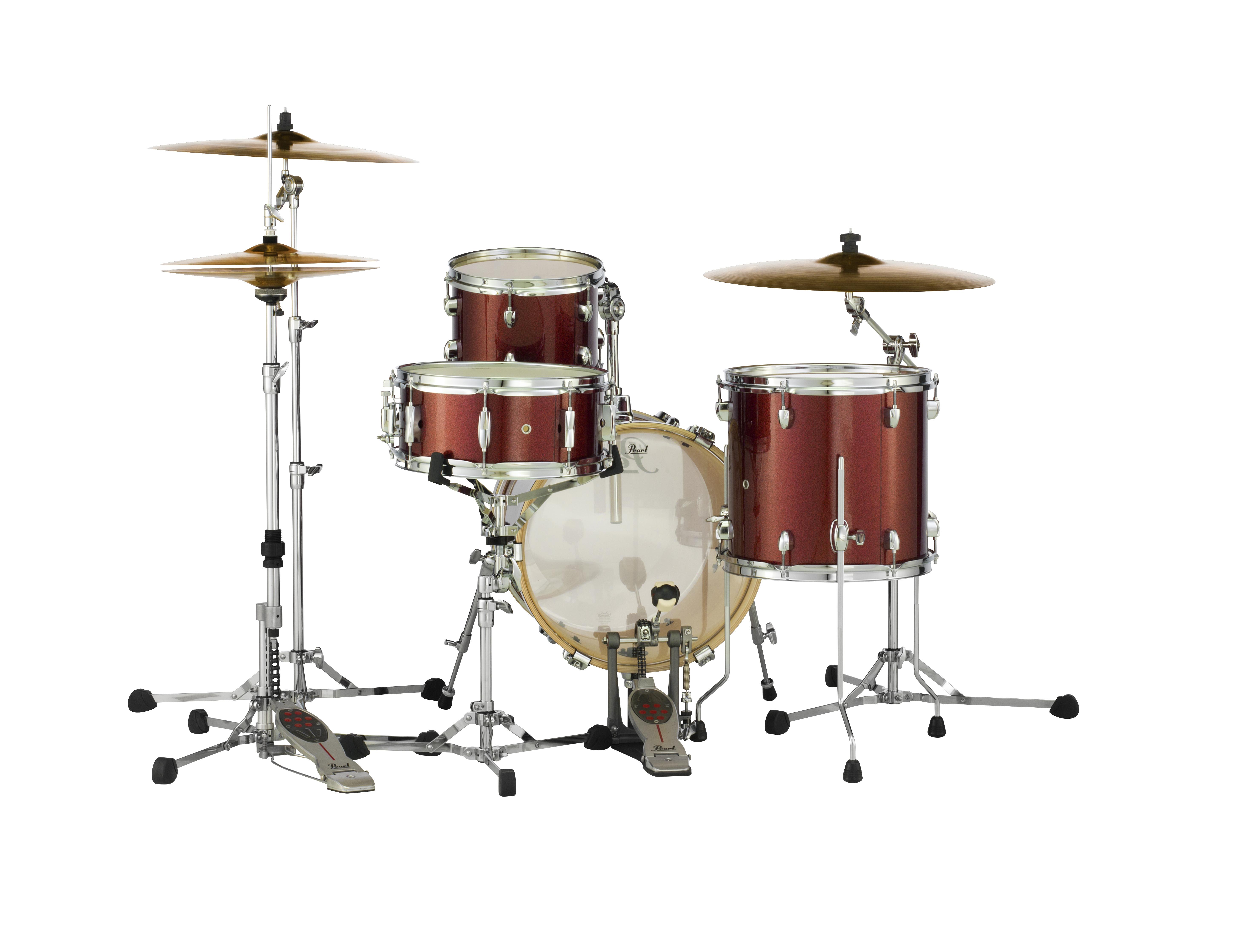 Pearl Midtown Series 4-pc. Shell Pack    Black Cherry Glitter 16x14/10x7/13x12/13x5.5S