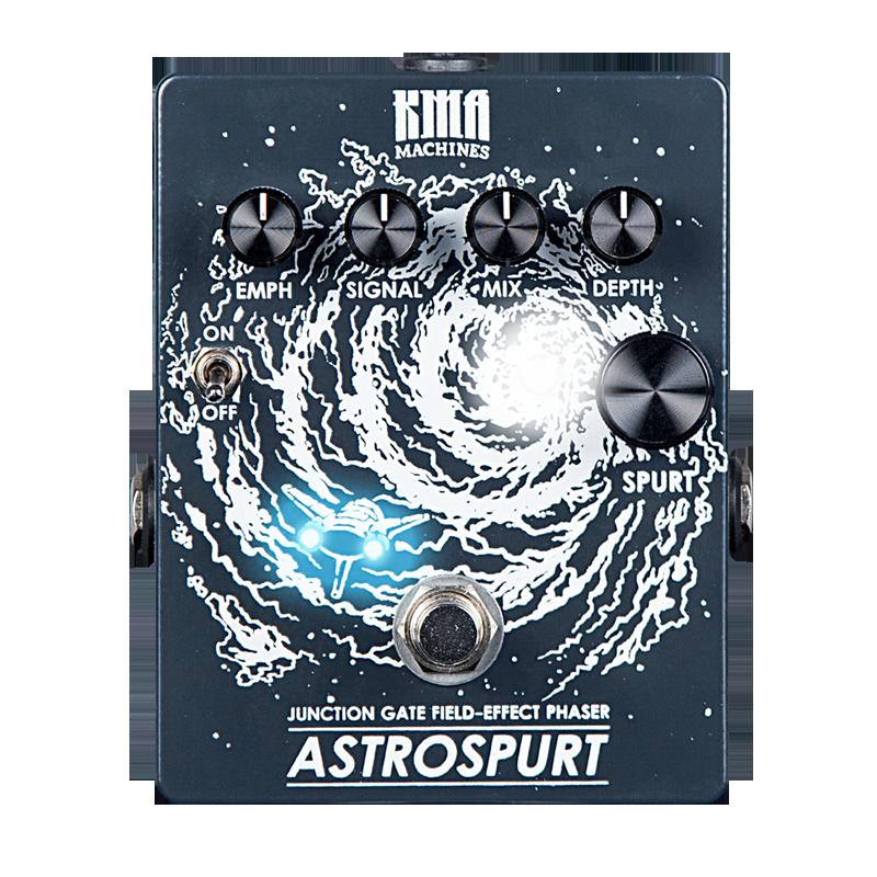 KMA Audio Machines - Astrospurt - 4-Stage JFet Phaser Pedal