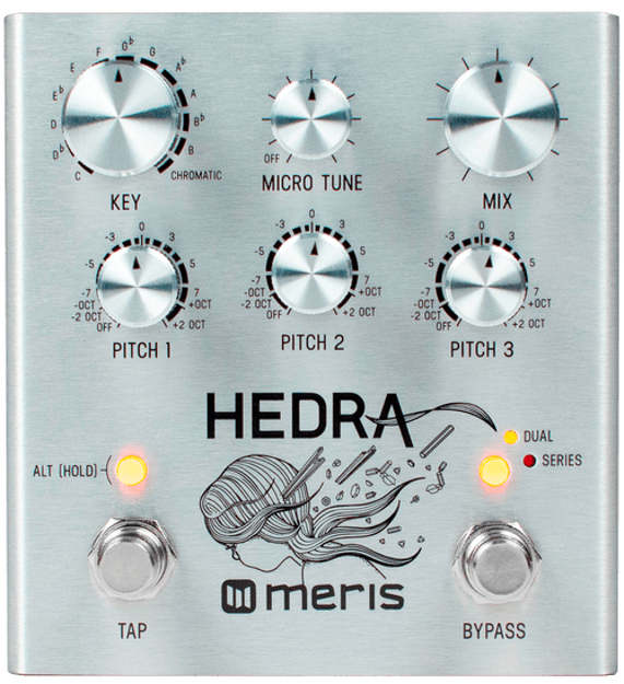 Meris - Meris Hedra - 3-Voice Rhythmic Pitch Shifter Pedal