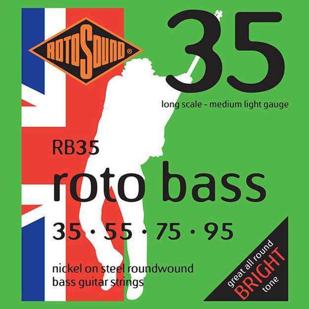 Rotosound RB35 Roto Bass - Nickel  35-95