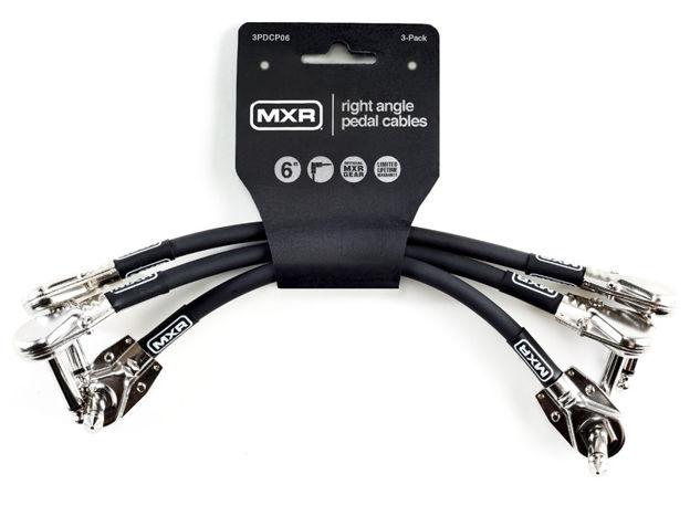 MXR 3PDCP06 Patchkabel 15cm 3-pakke