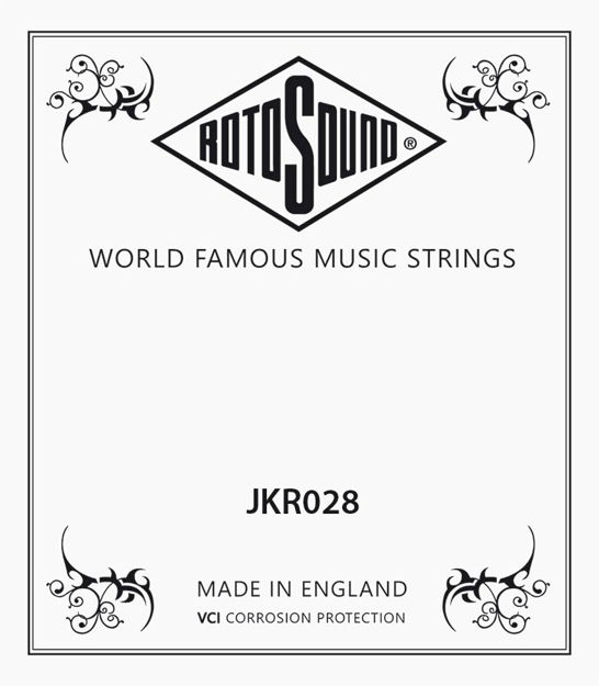 Rotosound JKR028 Phosphor/Bronze Single String