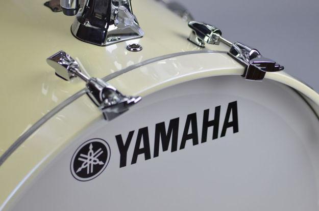 Yamaha Absolute Maple Hybrid Bass Drum 20x16 Polar White