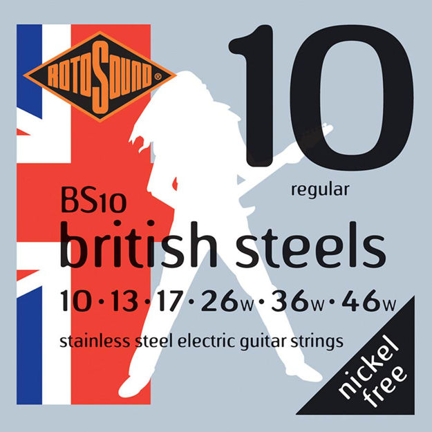 Rotosound BS10 British Steels - Regular 10-46