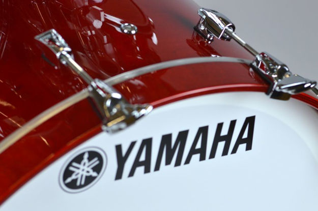 Yamaha Absolute Maple Hybrid Bass Drum 20x16 Red Autumn
