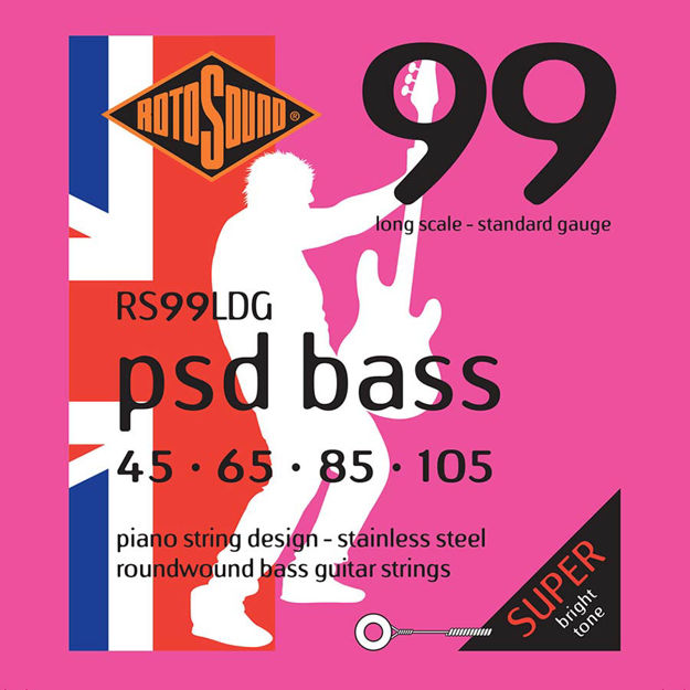 Rotosound PSD Bass 99 - Stainless Steel 45-105