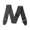 Dunlop BMF15BK 2.5 Tri-Glide Leather Black Strap