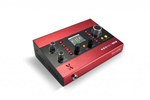 Focusrite RedNet X2P   2 x mic, linje/hodetlf ut, PoE
