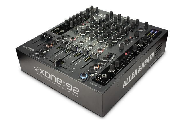 A&H XONE:92 8 into 2 club & DJ mixer Linear Faders