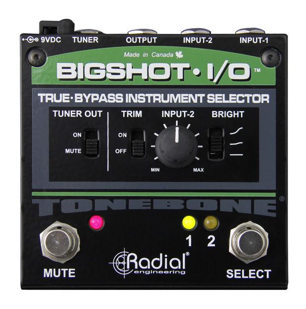 Radial Tonebone BIGSHOT I/O With Leds Instrument Switcher