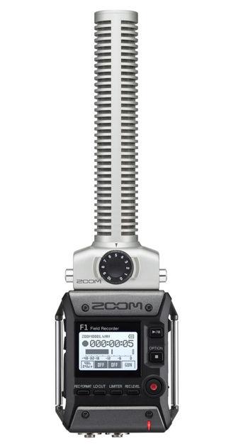 Zoom F1-SP Field Recorder Shotgun Mic Pack