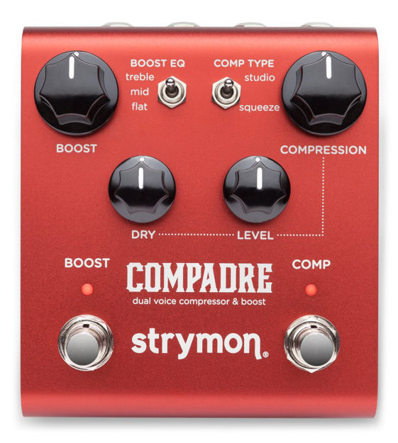 Strymon Compadre compressor and clean/dirty boost