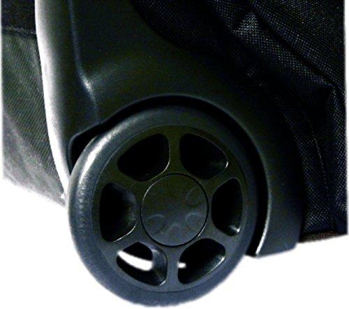 "Protection Racket 5038W09 38"" x 14"" x 10"" hardware bag wheels"