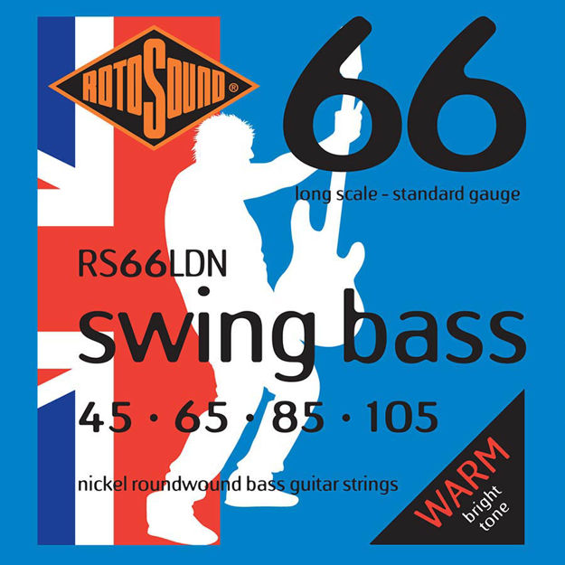 Rotosound RS66LDN Swing Bass 66 - Nickel 45-105