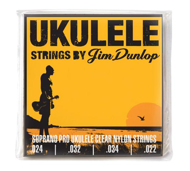 Dunlop Ukulelestr. Soprano Pro