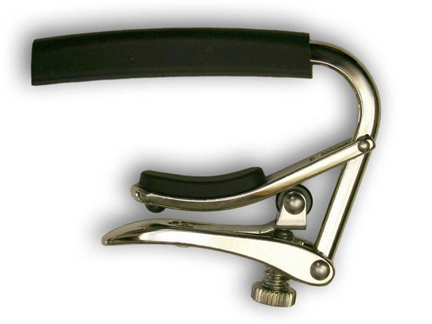 Shubb C3 Capo - 12-String Guitar - Polished Nickel