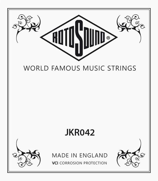 Rotosound JKR042 Phosphor/Bronze Single String