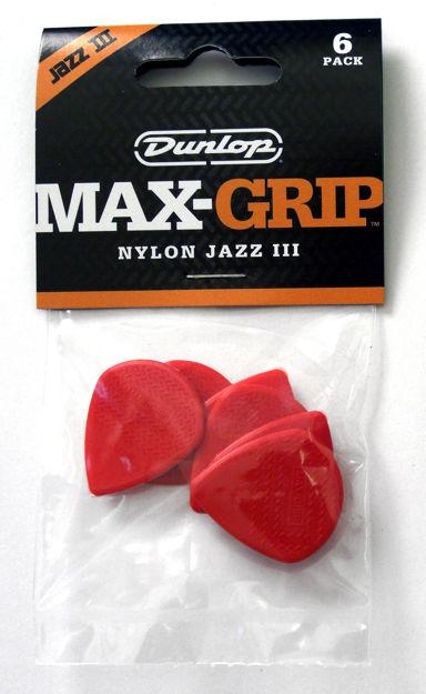 Dunlop Plekter Nylon MaxGrip JZ471P3N 6/PLYPK