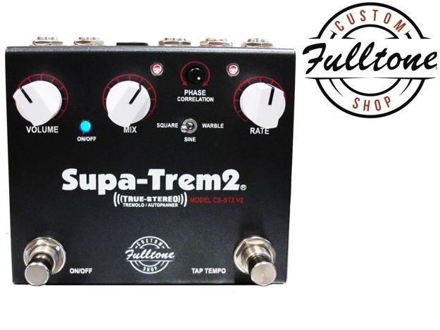 Fulltone - Supa-Trem II V2 - True-Stereo Analog Trem with Tap-Tempo